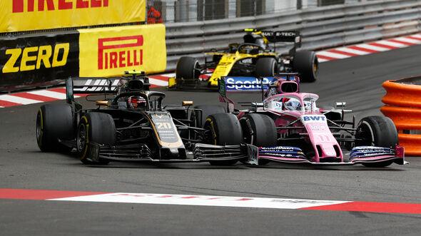 Sergio Perez vs. Kevin Magnussen - GP Monaco 2019