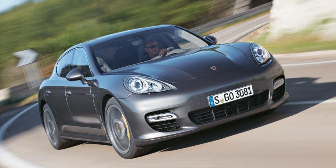Serienfahrzeuge Limousinen über 80 000 € - Porsche Panamera Turbo S