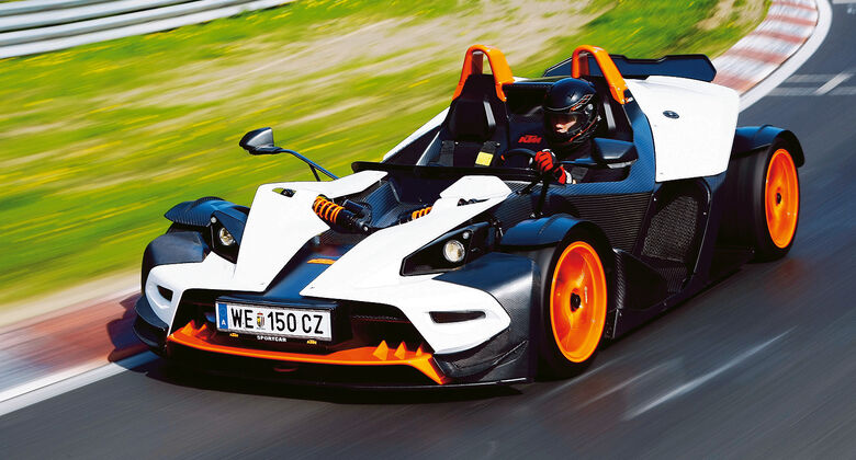 Serienwagen, sport auto-Award 2014, spa0514, Cabrios bis 100.000 Euro, KTM X-Bow R