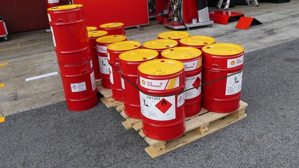 Shell-Benzin - GP Spanien 2019