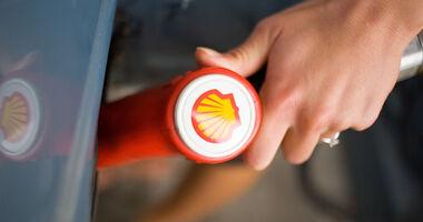 Shell Logo Zapfpistole