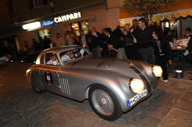 Siegerauto BMW 328 Mille Miglia Touring Coupé auf der Mille Miglia 2010