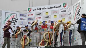 Siegerehrung, Podium, VLN, Langstreckenmeisterschaft, Nürburgring