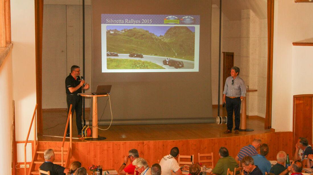 Silvretta Classic 2015, Rallye-Lehrgang