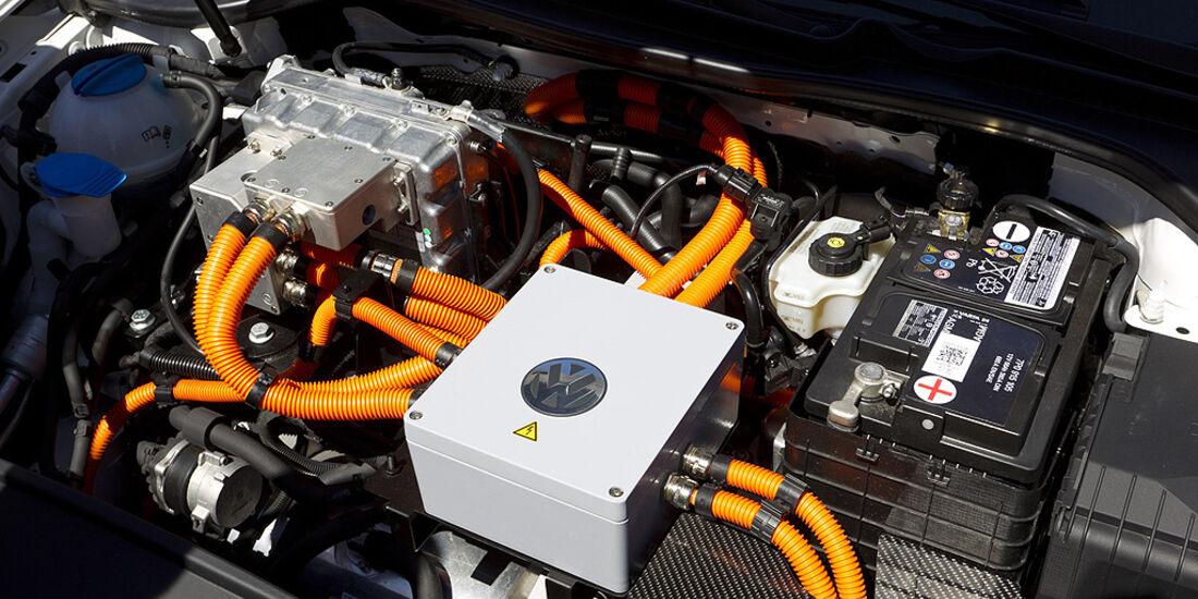 Silvretta E-Auto 2010, Elektroauto, E-Auto, VW E-Golf, Motor