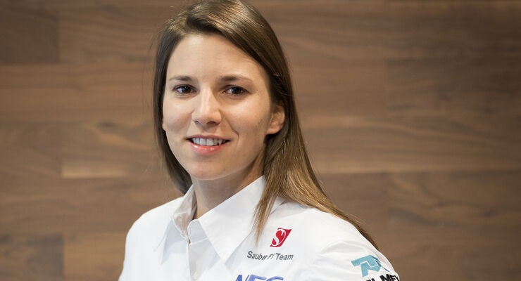 Simona de Silvestro - Sauber - F1 - 2014