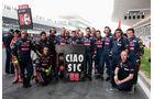 Simoncelli-Tribute Toro Rosso GP Indien 2011