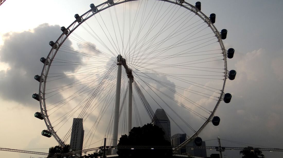 Singapore Flyer - Formel 1 - GP Singapur - 20. September 2012