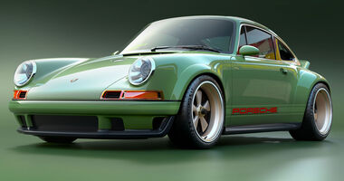 Singer Porsche 964 DLS Scott Blattner
