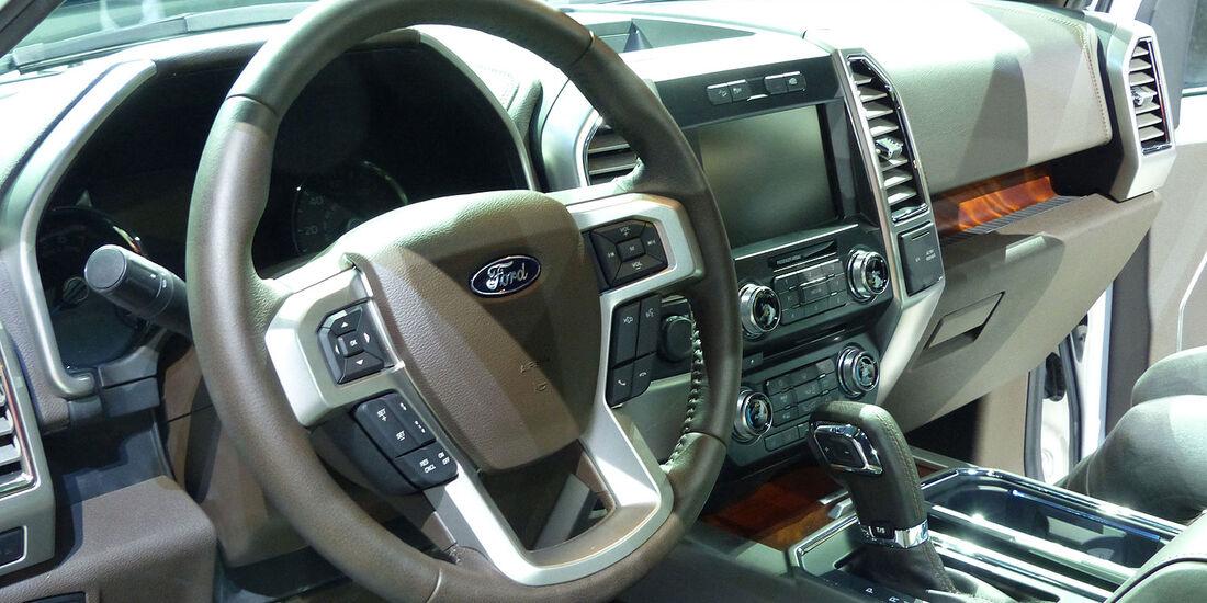 Sitzprobe Ford F-150