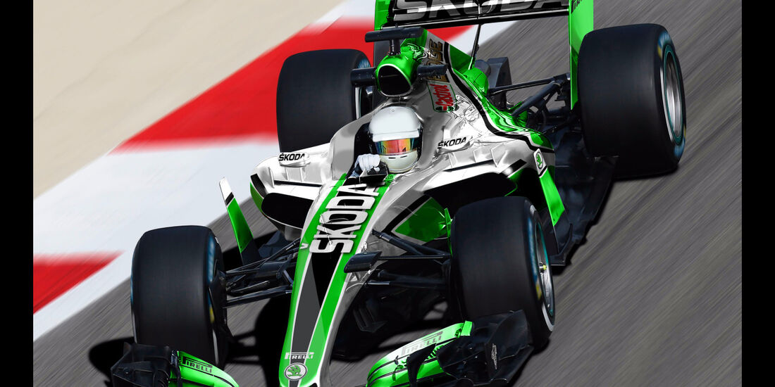Skoda - Formel 1 2017 - Designs - Sean Bull