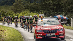 Skoda-Leseraktion, Tour de France