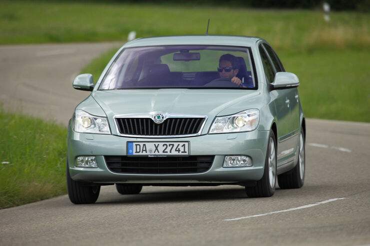 skoda octavia 1 6 lpg im fahrbericht gem chlich und. Black Bedroom Furniture Sets. Home Design Ideas