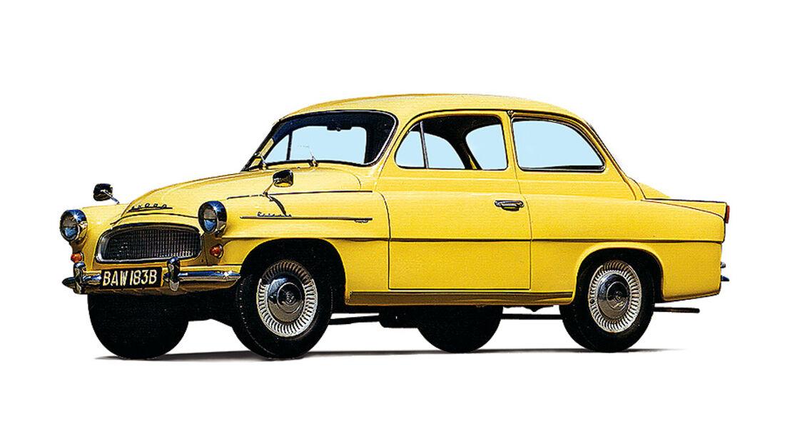 Skoda Octavia 1959-1971
