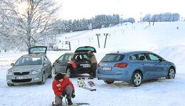 Skoda Octavia Combi 2.0 TDI Elegance, Peugeot 308 SW HDi FAP 140 Platinum, Opel Astra Sports Tourer 2.0 CDTi Sport