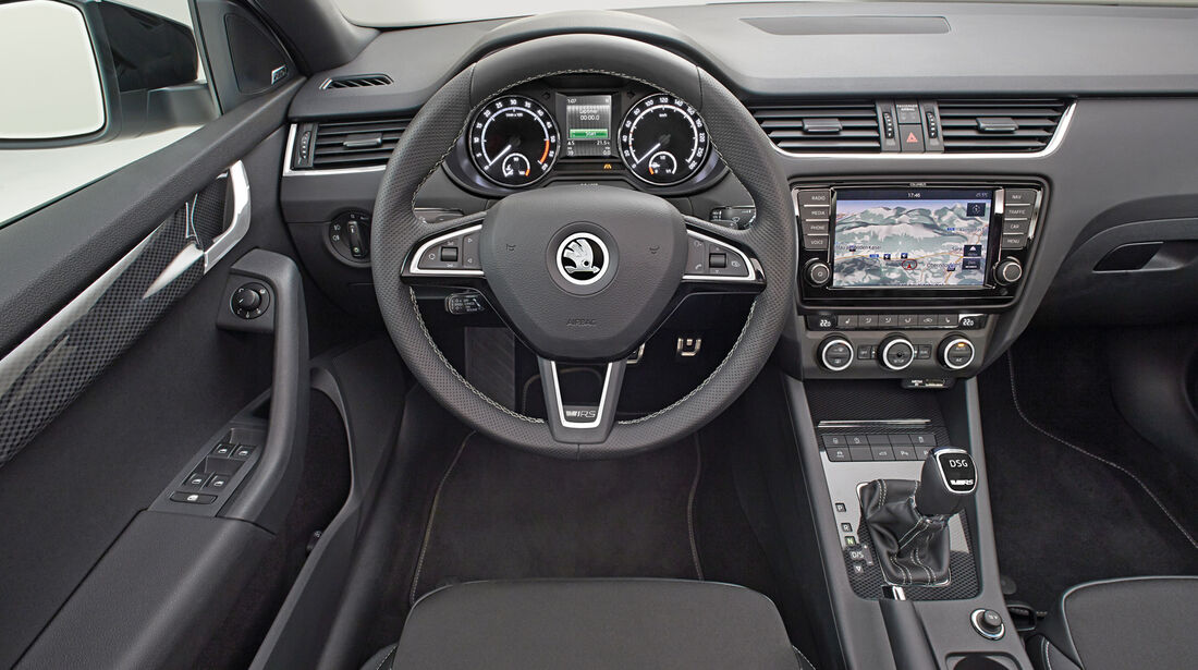 Skoda Octavia Combi RS, Cockpit