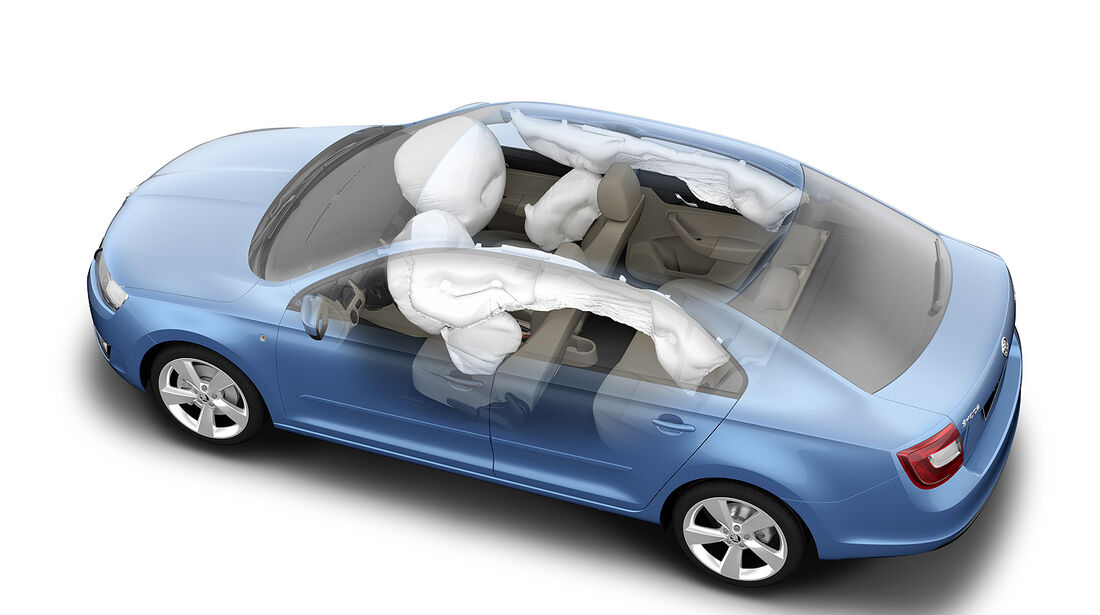 Skoda Rapid, Airbags