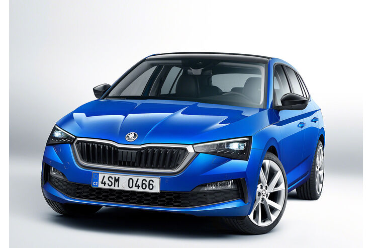 skoda scala 2019 motoren daten marktstart preise auto motor und sport. Black Bedroom Furniture Sets. Home Design Ideas