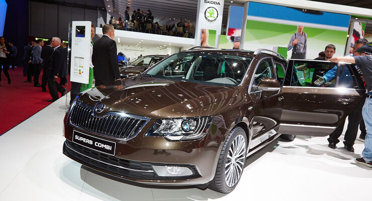 Skoda Superb Combi 4x4 Laurin & Klement, Genfer Autosalon, Messe, 2014