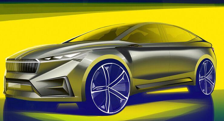 Skoda Vision iV Elektroauto