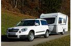 Skoda Yeti 2.0 TDI 4x4, Campingwagen