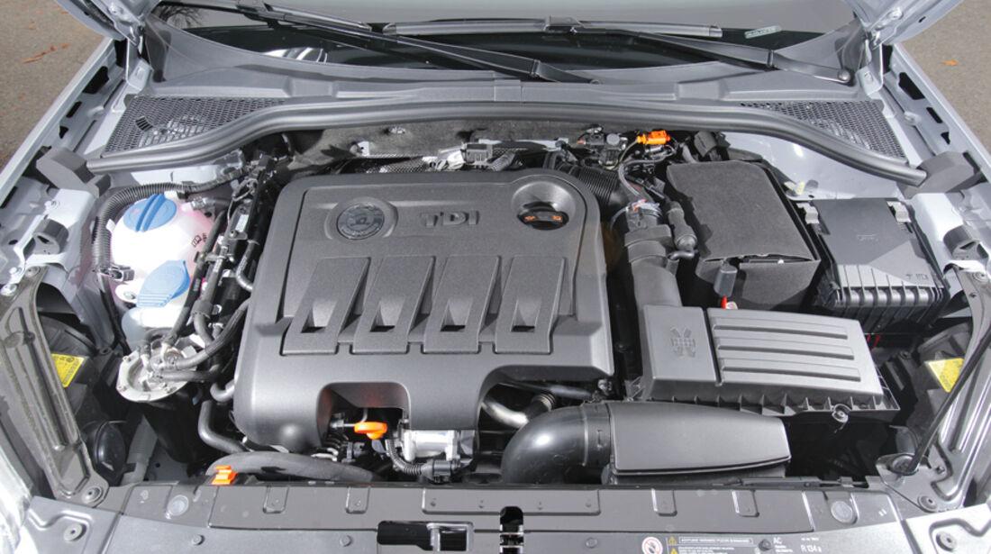 Skoda Yeti 2.0 TDI 4x4, Motor