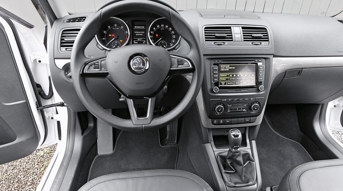 Skoda Yeti, Cockpit