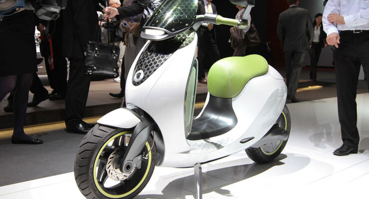 Smart E-Scooter Paris 2010
