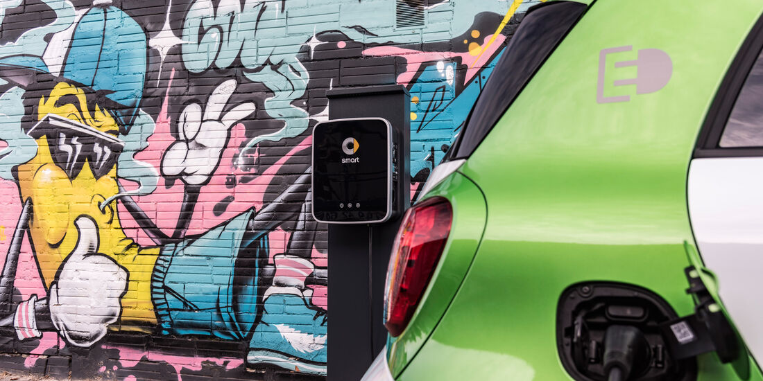 Smart Forfour Electric Drive, Strombuchse