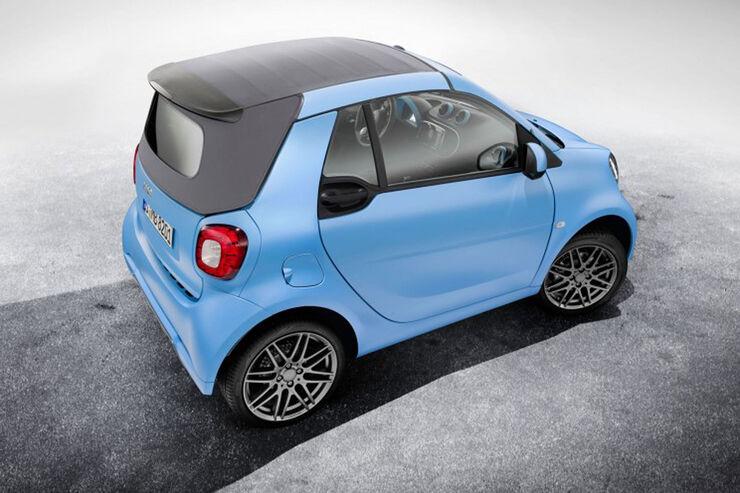 smart fortwo cabrio brabus edition sondermodell auto. Black Bedroom Furniture Sets. Home Design Ideas