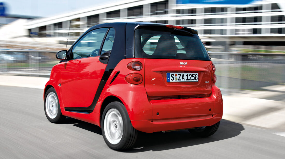 Smart Fortwo, Heck