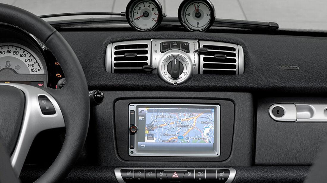Smart Fortwo mhd,Navigationsgerät