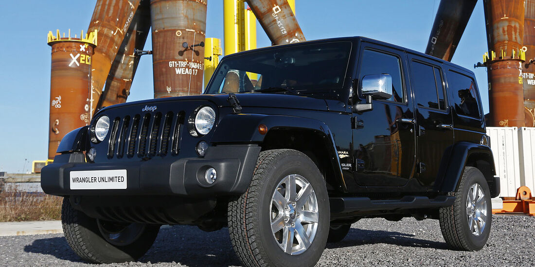 Sondermodell Jeep Wrangler Unlimited Indian Summer