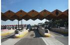 Spanien Autobahn-Mautstelle