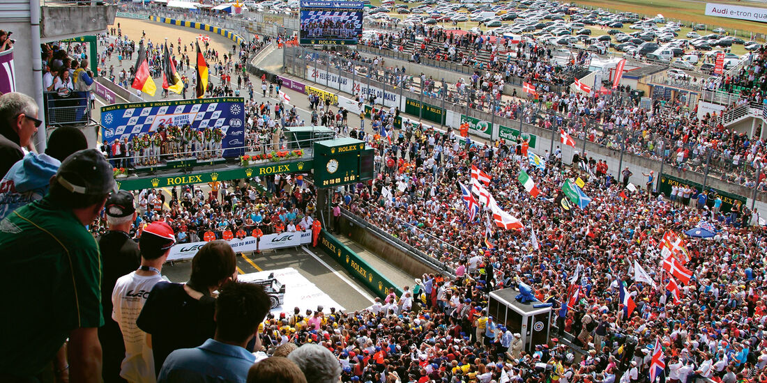 Sportwagen-WM, Le Mans, Zuschauer