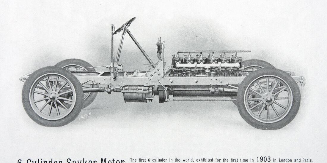 Spyker, Sechszylinger, 1906