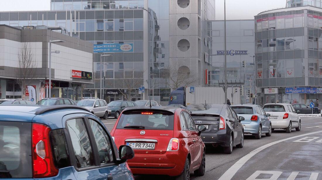 Stadtzyklus, Stadtverkehr