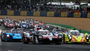 Start - 24h-Rennen Le Mans - Samstag - 15.06.2019