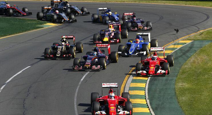 formel 1 start australien