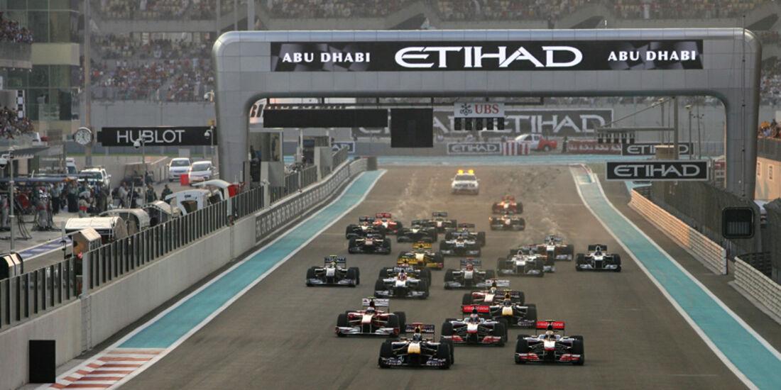 Start GP Abu Dhabi 2010