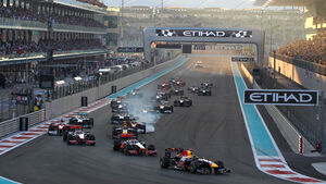 Start - GP Abu Dhabi 2011