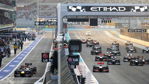 Start GP Abu Dhabi 2012