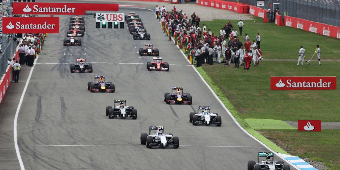 Start - GP Deutschland 2014