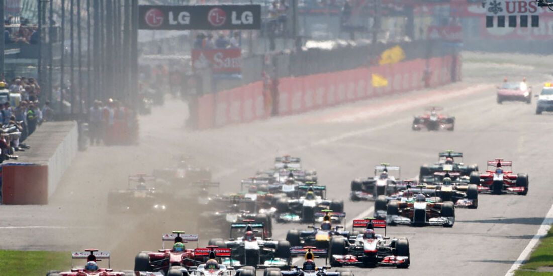 Start GP Italien Monza 2011