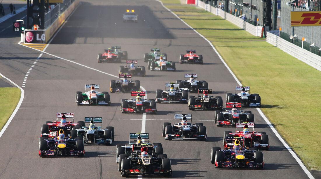 Start - GP Japan 2013