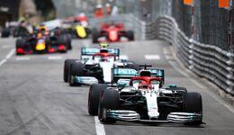 Start - GP Monaco - Formel 1 - 26. Mai 2019