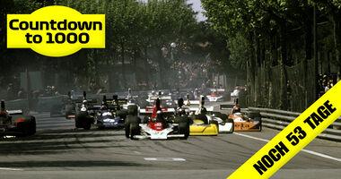 Start - GP Spanien 1975 - Montjuich Park