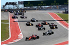 Start - GP USA 2017 - Rennen