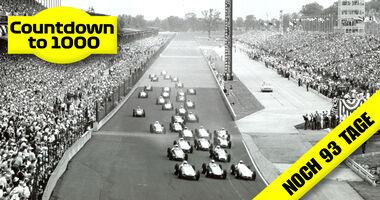 Start - Indy 500 - 1960 - Motorsport