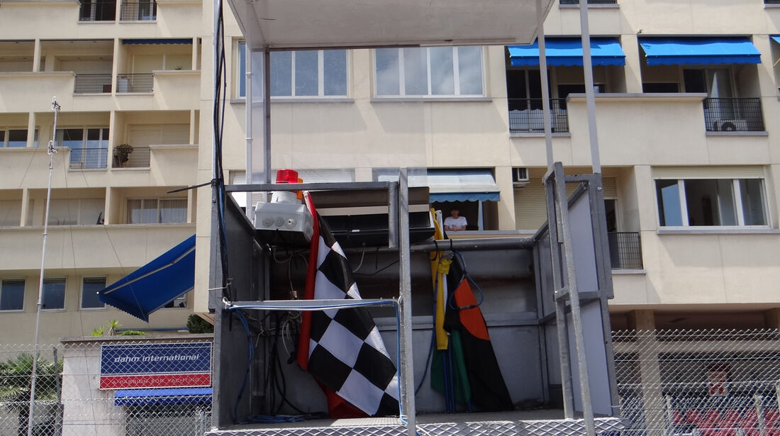 Starterturm - Formel 1 - GP Monaco - 24. Mai 2012